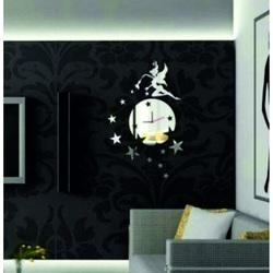 Zegar ścienny (lustro zegar na ścianie) DAVIN, 35x45 cm
