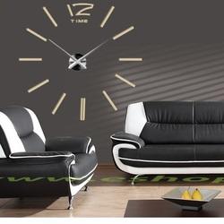 Nowoczesny zegar na ścianie zegara ściennego dwanaście DIY JUBINALE