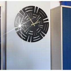 Luksusowy zegar ścienny, zegar na ścianie CUNA
