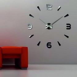 Lustro zegara ściennego   pianka 3D DIY firmy Huawet