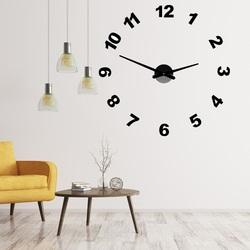 Projektuj zegar ścienny z numerami PLEXI OPTIC