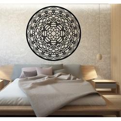 Mandalę życia zaokrągla drewniany obraz na ścianie ze sklejki SUSENAK
