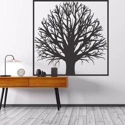 Drewniany obraz ściany drzewa z drzewa sklejki GEMER