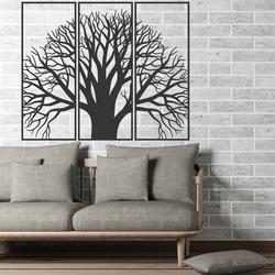 Drewniane zdjęcie na ścianie drewnianego drzewa sklejki pokoju KAMOV