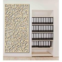 Malowanie ścian drewnianej topoli ze sklejki JESIEŃ