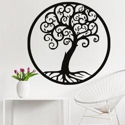 Dekoracja na ścianie drzewnego życia drewniany wizerunek sklejki JULKA