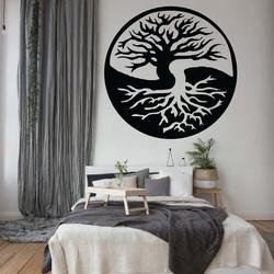 Malowanie ścian drzewa ze sklejki drewnianej