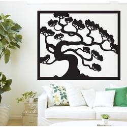 Drewniany obraz na ścianie sklejki bonsai DRAZSKA