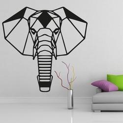 XMOMO rzeźbione obraz na ścianie słoń PR0237 czarny