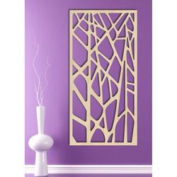 Rzeźbione drewniany obraz na ścianie sklejki HUGO