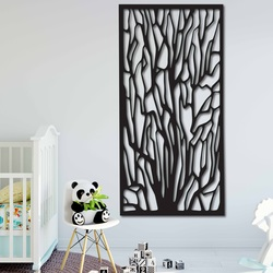 Rzeźbione Drewniane zdjęcie na ścianie sklejki VFOOF