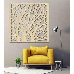 Rzeźbione drewniane ściany obrazu ze sklejki BELOON