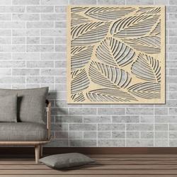 Rzeźbione drewniane ściany obrazu ze sklejki ORKO