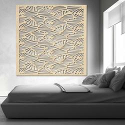 Rzeźbione drewniane ściany obrazu ze sklejki MUSLAY