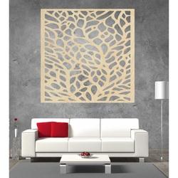 Rzeźbiony obraz na ścianie drewnianej sklejki KLIDKK