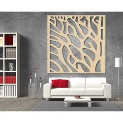 Rzeźbiony obraz na ścianie drewnianej sklejki drzewo