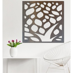 Vyrezávaný obraz na stenu z drevenej preglejky kvet LUSEKOJ