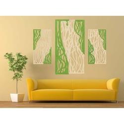 Cudowny obraz na ścianie drewnianej sklejki FLORALIS część tylna Topola oryginalna, kolor przedniej części do wyboru