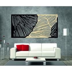 Gustowny obraz 3D na ścianie tylnej części ze sklejki Topola oryginalna, kolor z przodu do wyboru